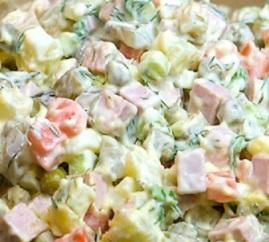 салат столичныый рецепт