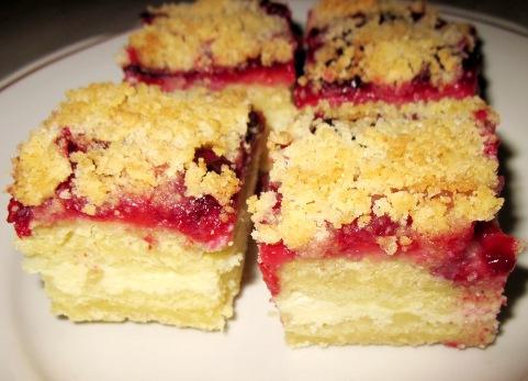 """Торт """"Улыбка"""" - творожно-ягодный десерт по простому рецепту"""