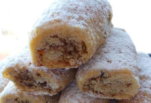 Дворянские рулетики - очень вкусные ореховые пирожные по простому рецепту
