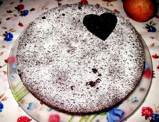 Быстрый шоколадный торт мулатка