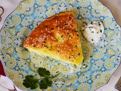 Ленивый капустный пирог — быстрый и очень вкусный