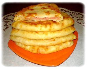 Сырные лепёшки на скорую руку за 5 минут - быстро и вкусно!