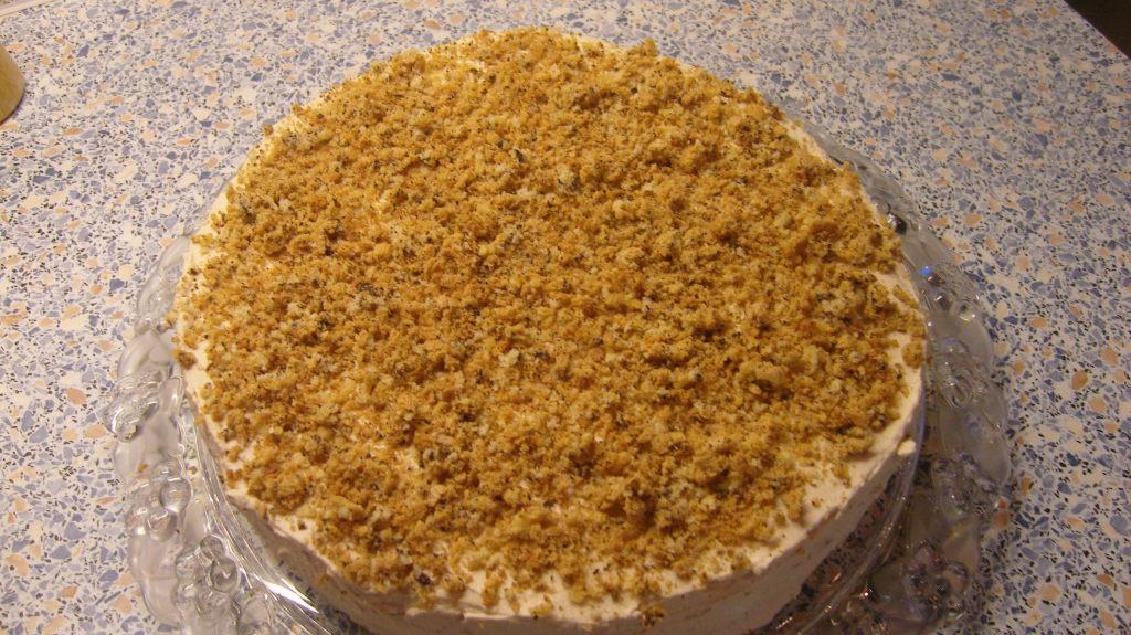 Торт без выпекания по-быстрому