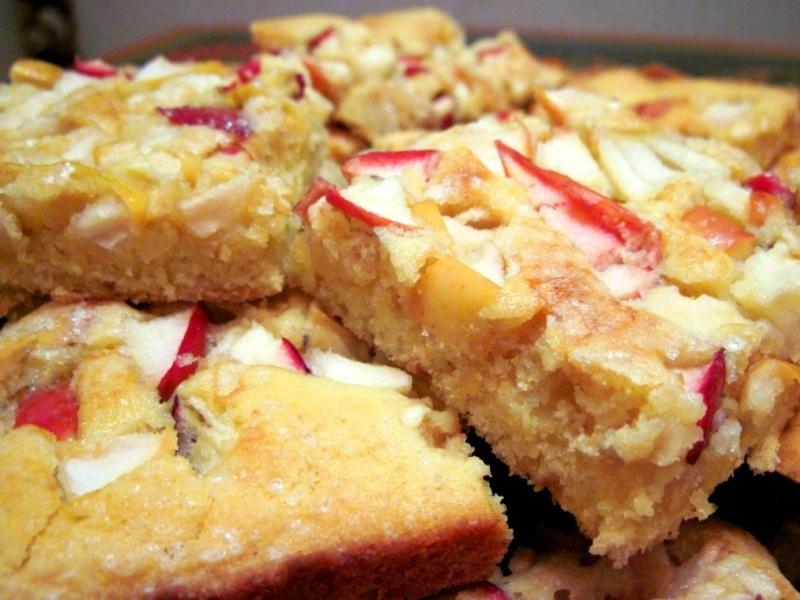 Быстрый яблочно-лимонный пирог