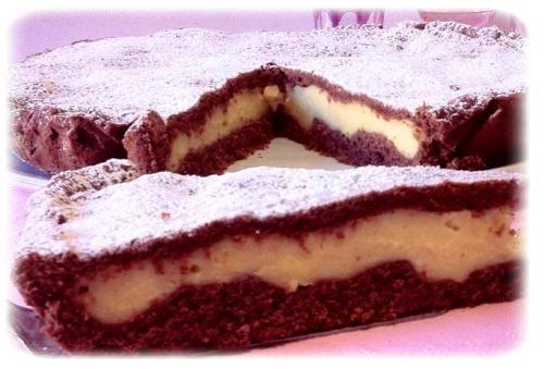 """Торт """"Мелодия"""" - нежный шоколадный десерт с заварным кремом. Простой рецепт"""