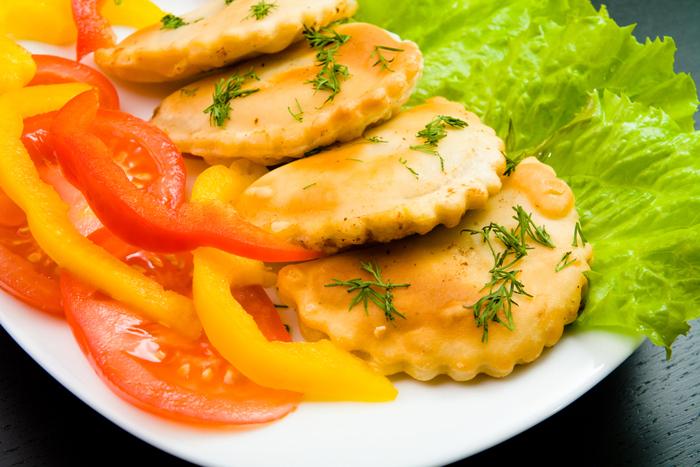 Чебуреки с овощами