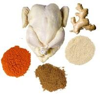 Рецепт приготовления курицы с имбирем