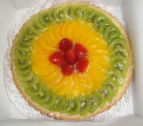 Нежный бисквитный торт