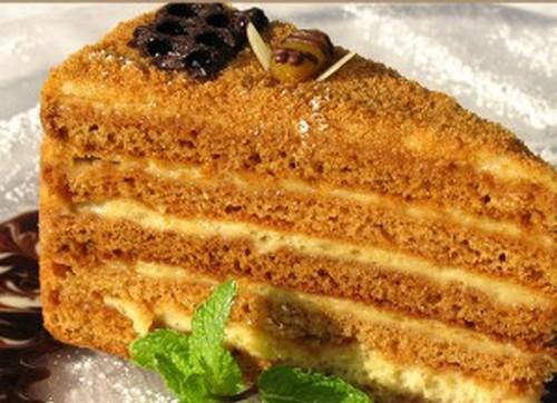 """Торт """"Медовый"""" на сковороде"""