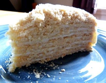Торт без выпечки рецепт на сковороде