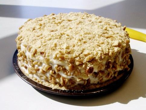Торт творожный на сковороде - простой рецепт вкусного десерта