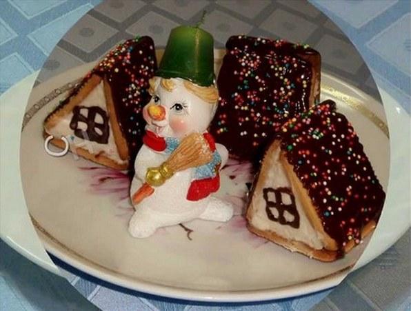 десерт домик рецепт