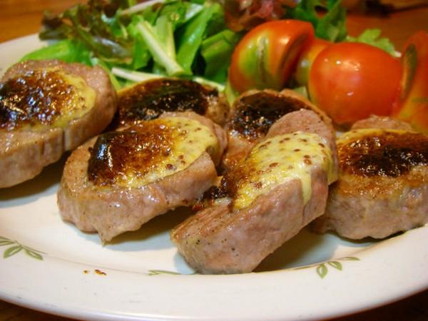 Жареное мясо в оригинальном маринаде